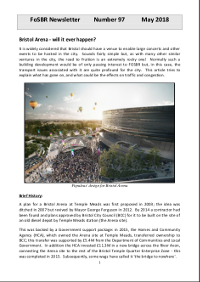 Front page of Newsletter 97