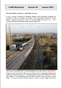 Front page of Newsletter 99