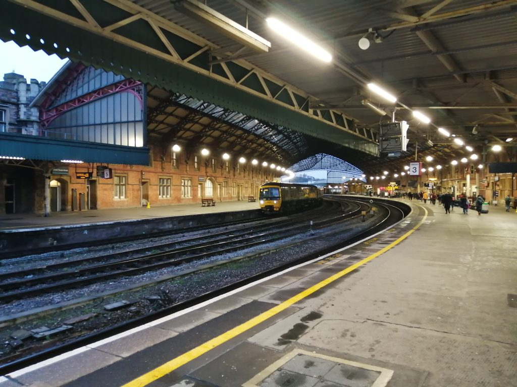 Main Train Shed - Bristol Temple Meads station