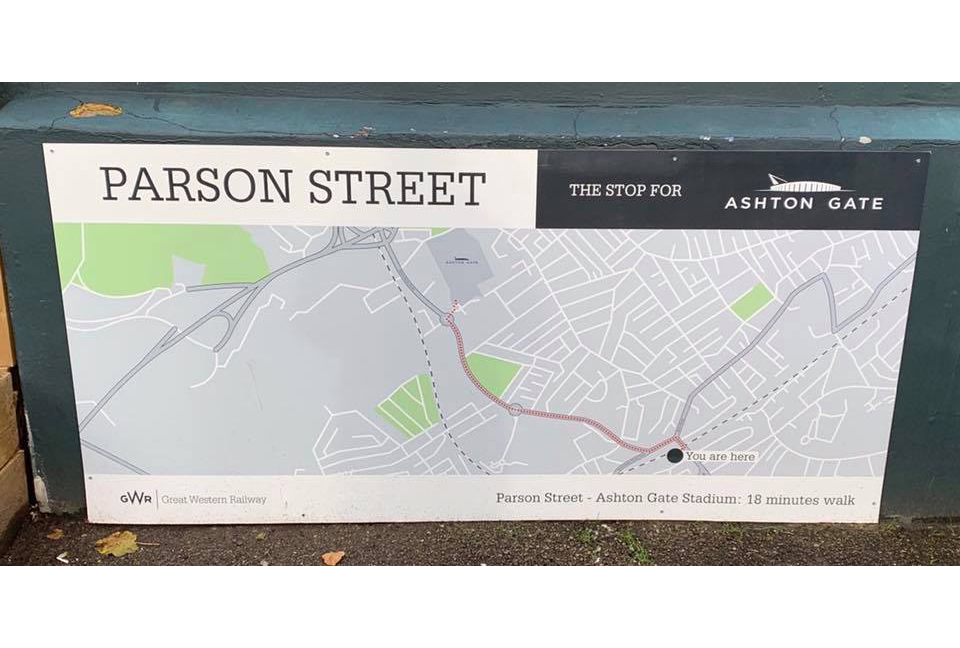 Parson Street to Ashton Gate