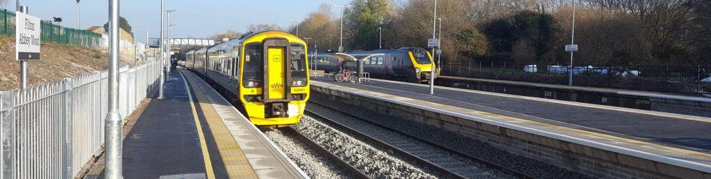 New Platform 4, Filton Abbey Wood Station