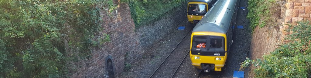 trains pass near clifton down